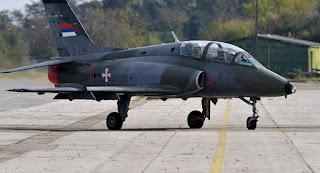 SOKO G-4 Super Galeb da Servia se acidenta