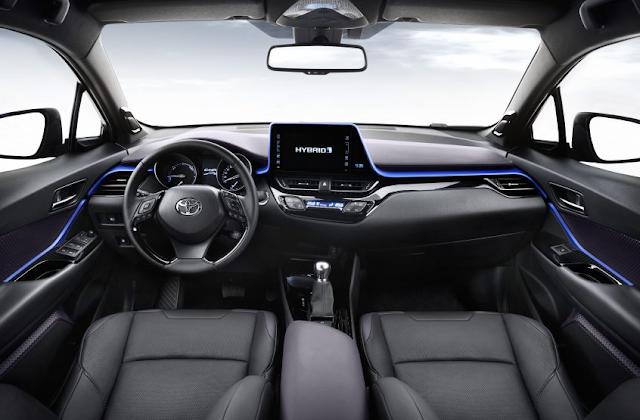 Interior Toyota C-HR 2017 Dengan Desain Mewah dan Berani