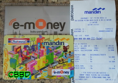 emoney indomaret card