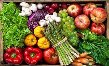 Tips memilih buah dan sayuran
