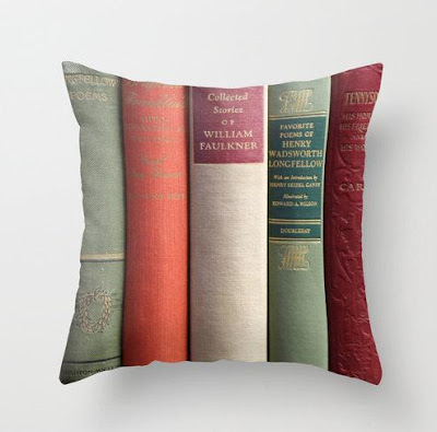 Books Pillow Cover