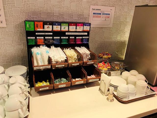 新千歲機場VIP室-茶包