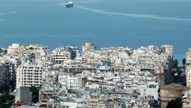 Греческие Салоники переживают рекордные морозы