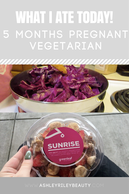 What I Ate Today! | 5 Months Pregnant Vegetarian