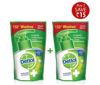 Dettol Original Liquid Soap Refill Pouch