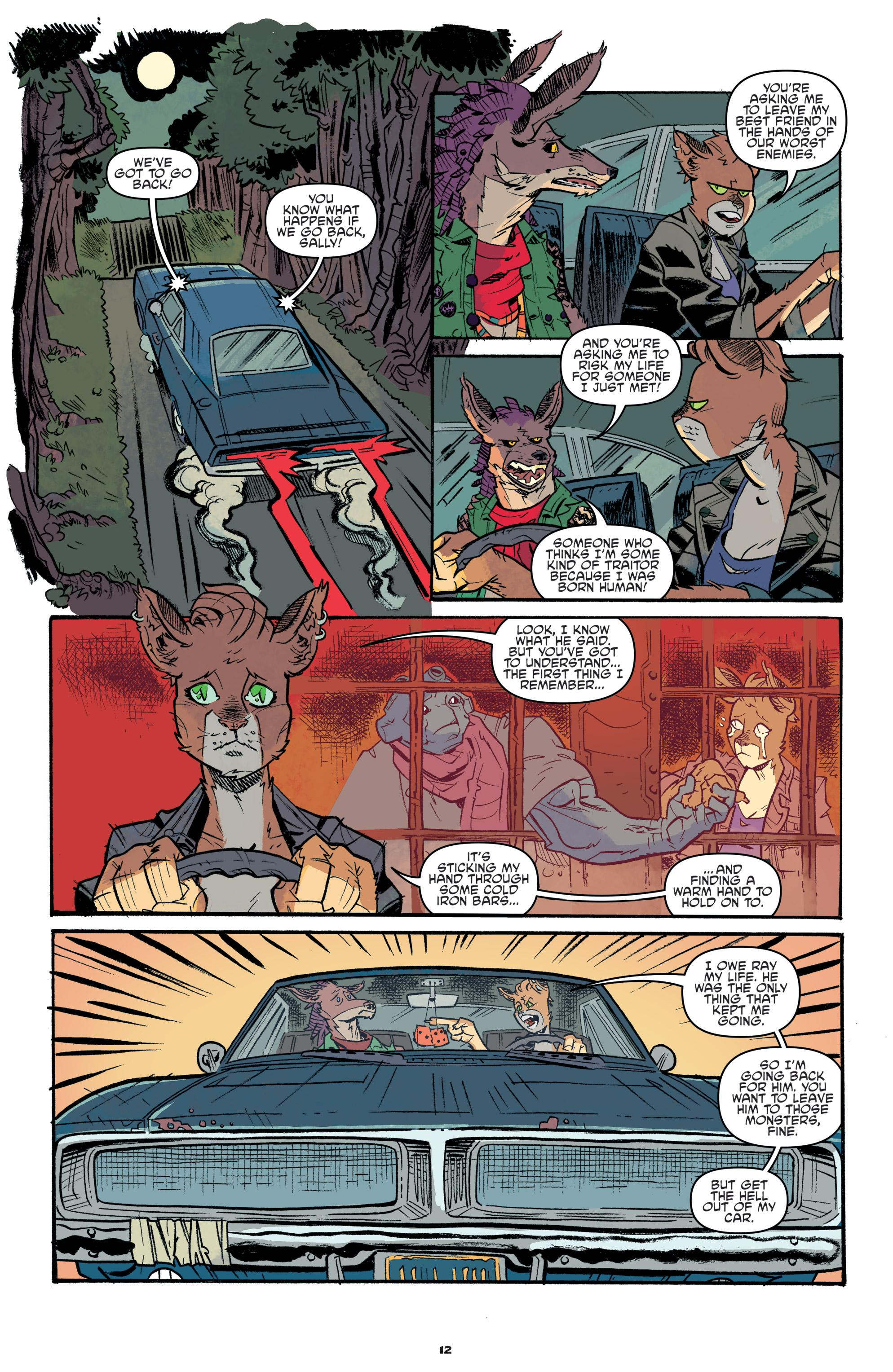 Read online Teenage Mutant Ninja Turtles Universe comic -  Issue #11 - 14