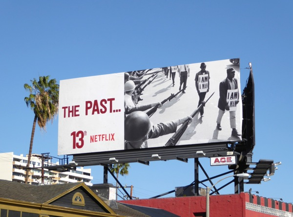 13th documentary The Past Netflix billboard