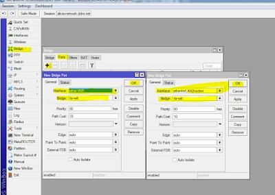 Memanfaatkan Modem FO ZTE F609 Sebagai Akses Point Mikrotik 40