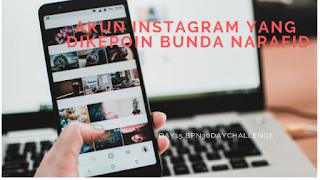 Akun Instagram Yang Dikepoin Bunda Narafid