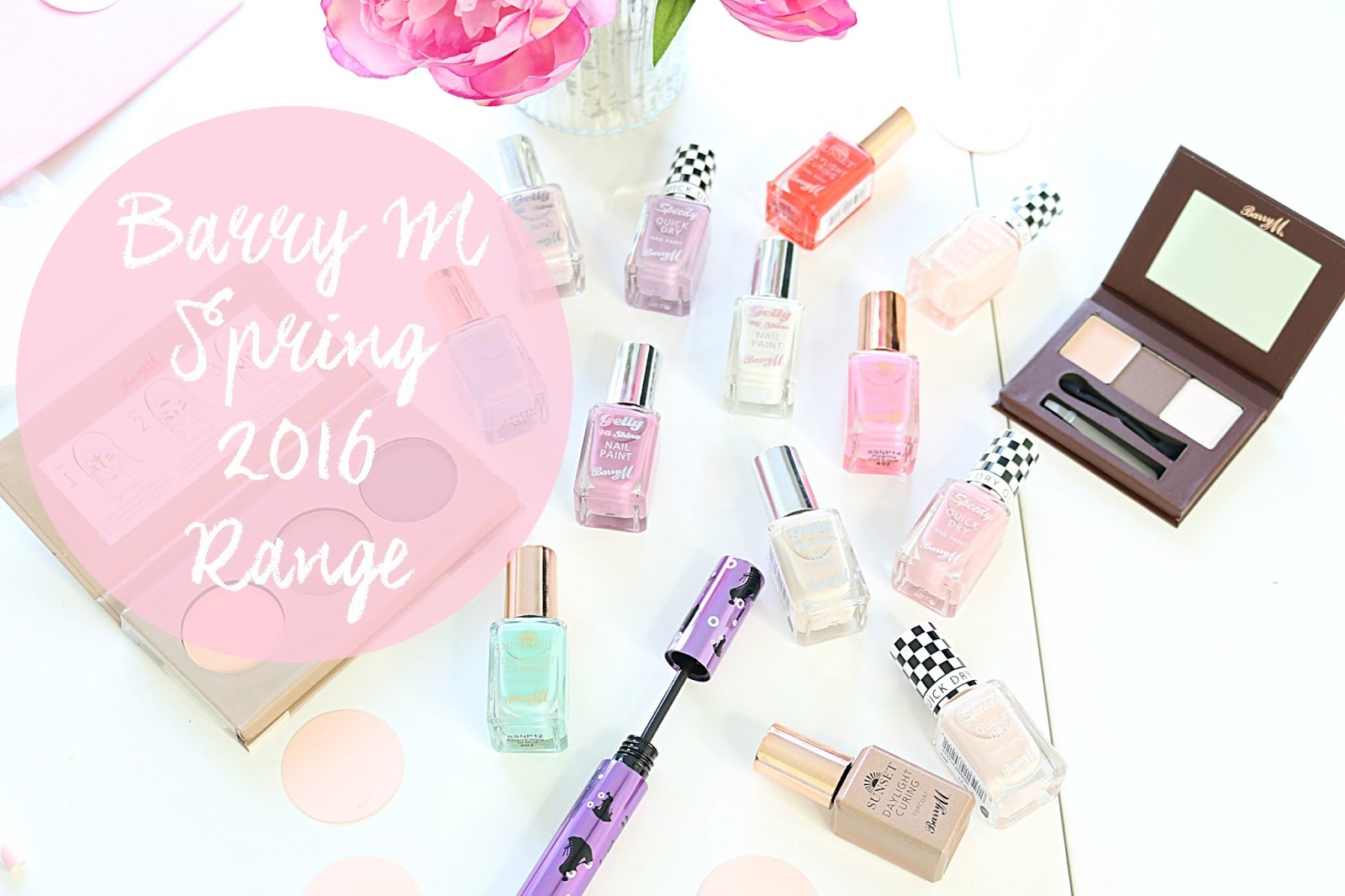Beauty, Make Up, Barry M, Barry M 2016, Barry M Spring 2016 collection, Drugstore, Nails, Spring Make Up,