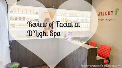 Review of Dlight Facial Spa