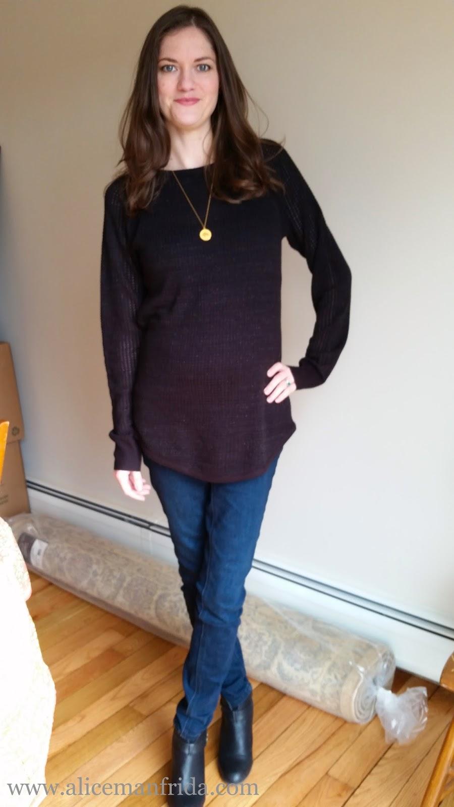 1fba5692f404f Alice Manfrida: Maternity Style: Sweater & Jeans