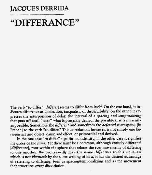 Derrida writing and difference scribd document
