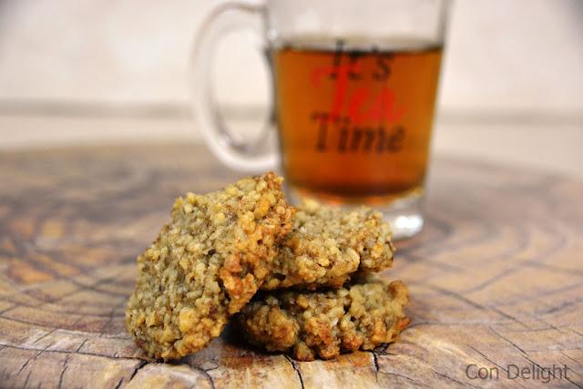 עוגיות אגוזי מלך משלושה מרכיבים three ingredients walnut cookies