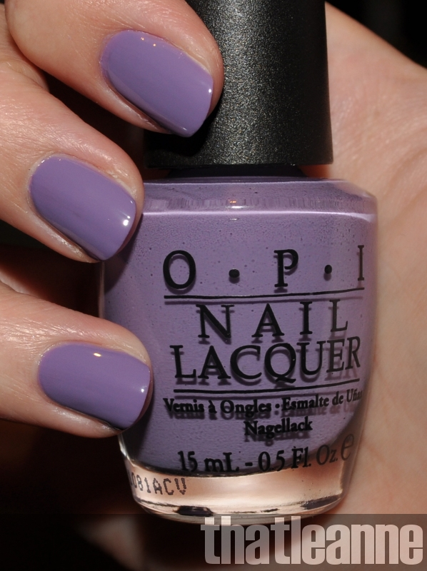 Opi Purple Nail Polish Swatches - Creative Touch