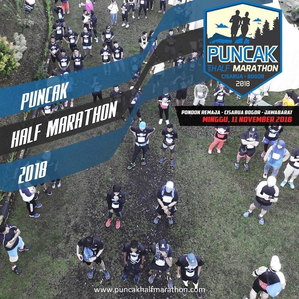 Puncak Half Marathon • 2018