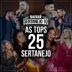 CD As TOPs 25 Sertanejo (2017)
