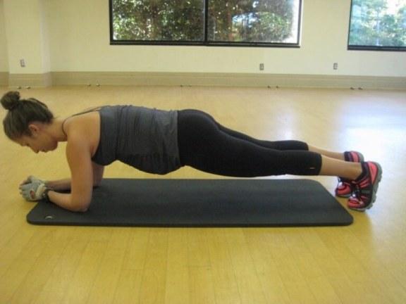 Senaman ibu hamil plank