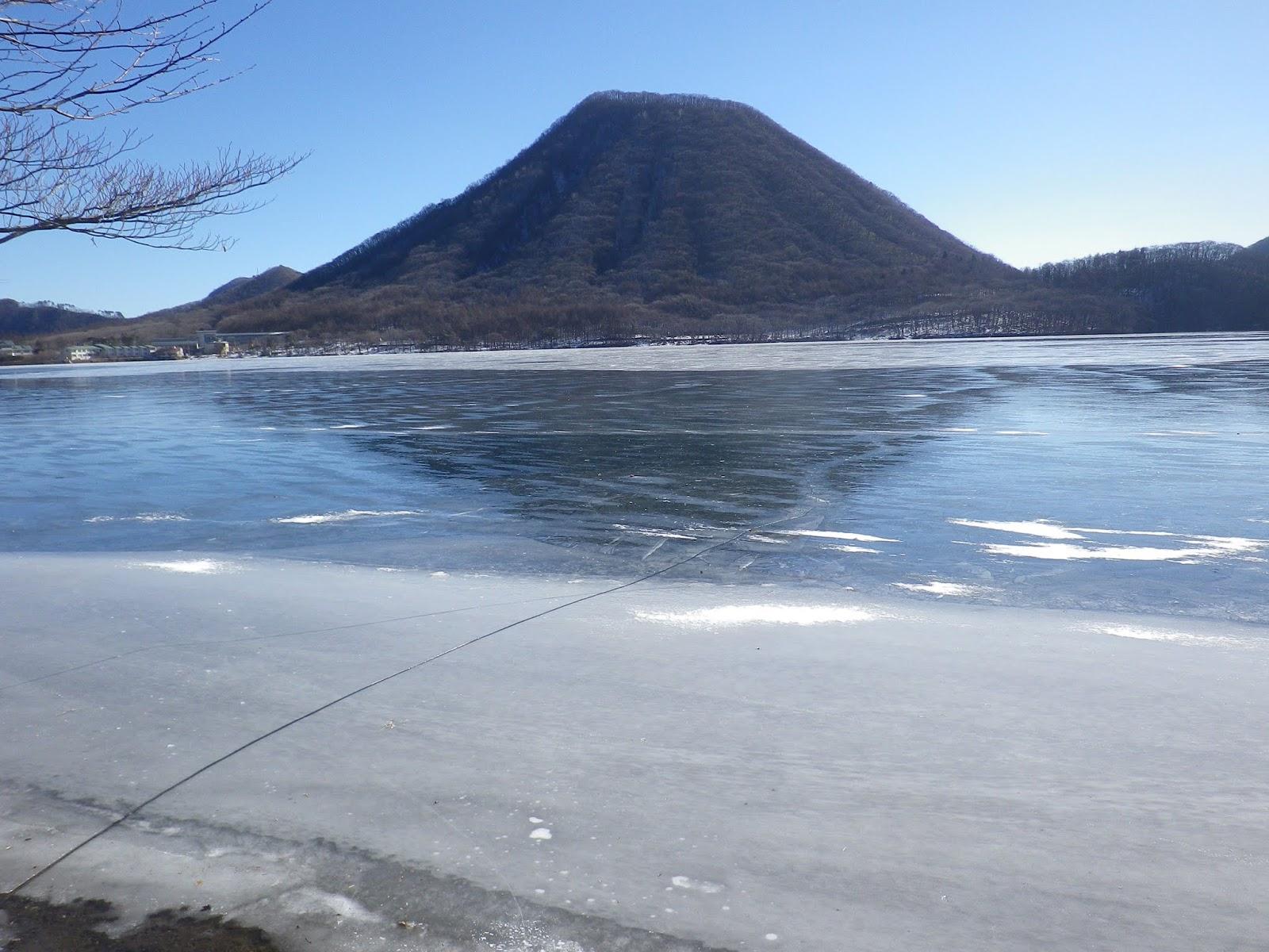 長壁真樹: 榛名湖結氷状況