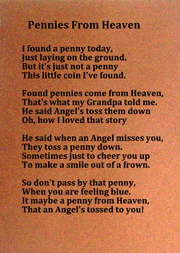 Missing you, Pennies from Heaven, Grief Quotes | Scrap-aholic