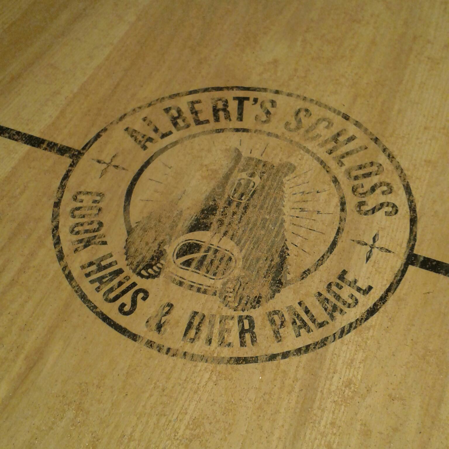 The Ham and Egger Files  Shuffleboard at Albert s Schloss bier hall ... b089a060e
