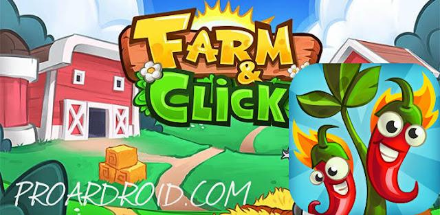 لعبة Farm and Click – Idle Farming Clicker v1.2.0 نسخة كاملة للاندرويد logo