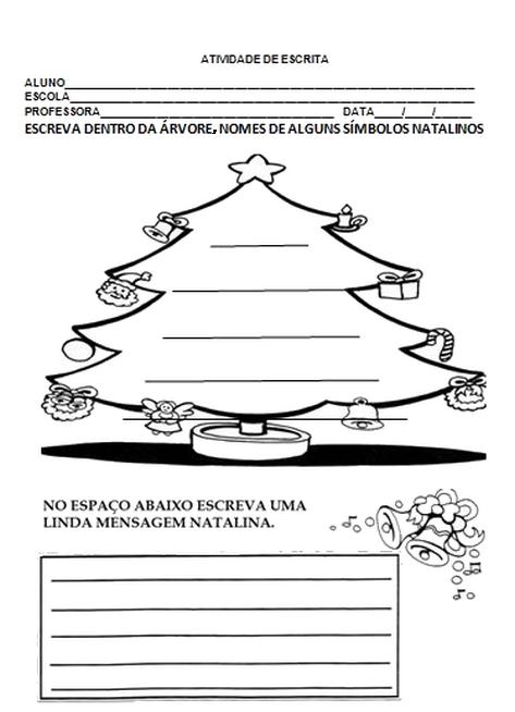 Natal 80 Atividades Interpretacao E Producao De Texto Exercicios
