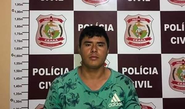 Preso homem acusado de estuprar jovem em Quixeramobim-CE