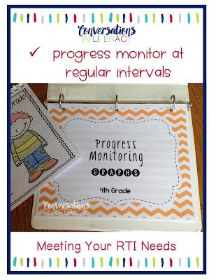 RTI Data and RTI Tips Progress Monitoring