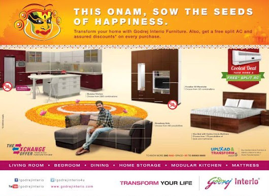 Godrej Interio Offer Free Split A/C