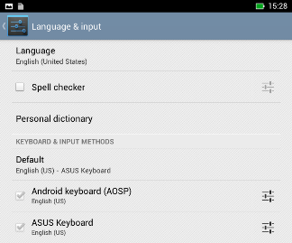 Quick Fix: Change ASUS Keyboard to Android Keyboard as Default