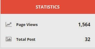 add blogger custom statistics
