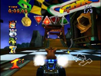 Download Game PC Racing Crash Nitro Kart Portable | REFREST
