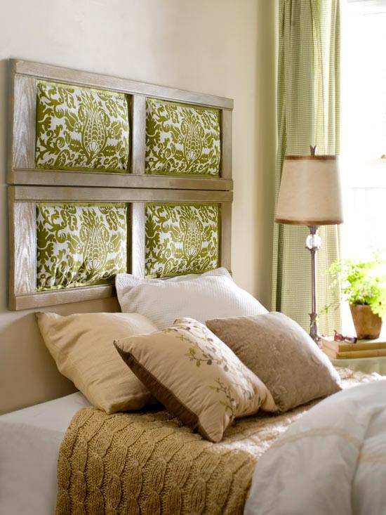 Cheap & Chic DIY Headboard Ideas   home appliance on Cheap Bed Ideas  id=18696