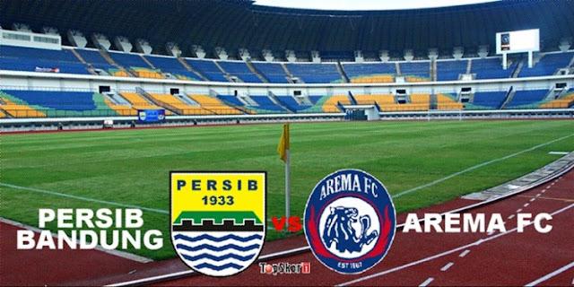 Persib Bandung Uji Coba Lawan Arema FC di Bandung 18 Maret 2018