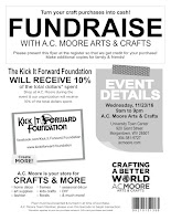 Flyer for A.C.Moore fundraising event (11/23/16)