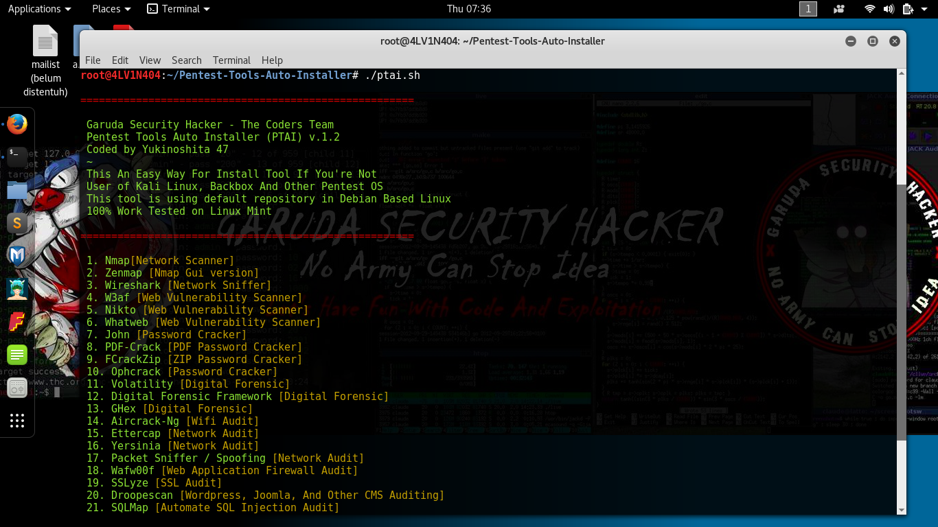 Pentest-Tools-Auto-Installer - A Simple Tool For ...