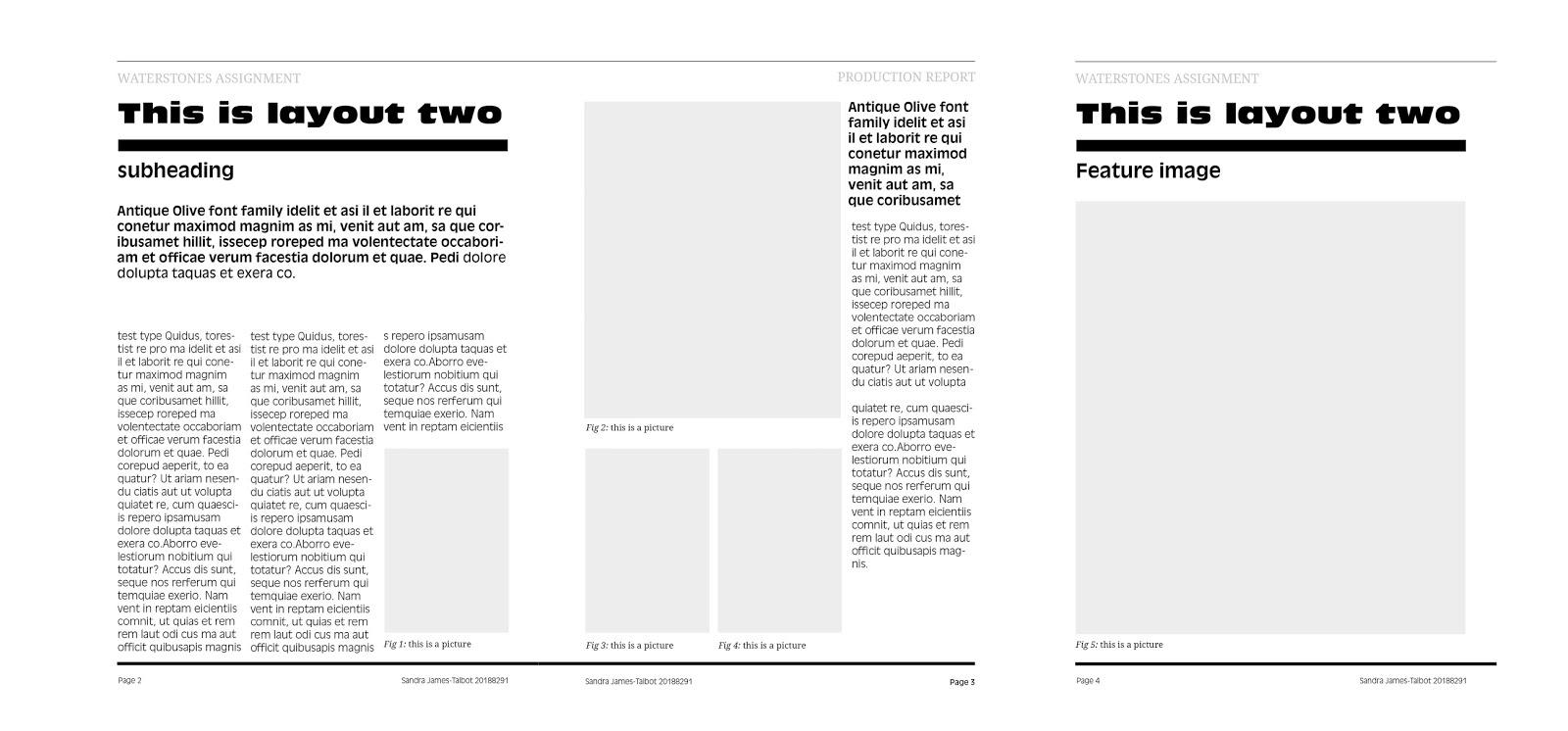 sandra james-talbot: Book layout