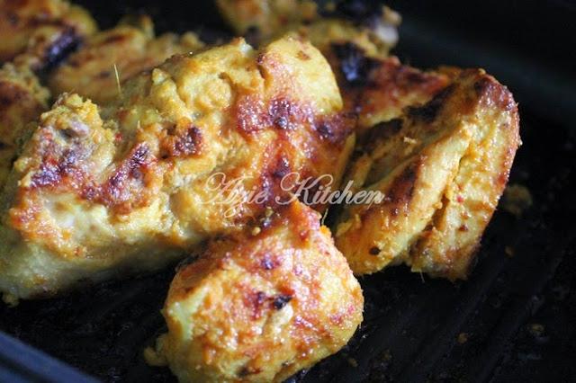 Ayam Bakar Berempah Kelantan Yang Sedap