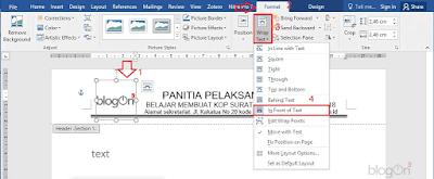 Mudah dan Praktis Membuat Kop Surat untuk Satu Kegiatan dalam 1 File pada Ms Word