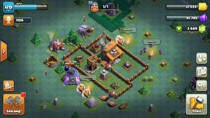 Game Coc Mod Mode Siang