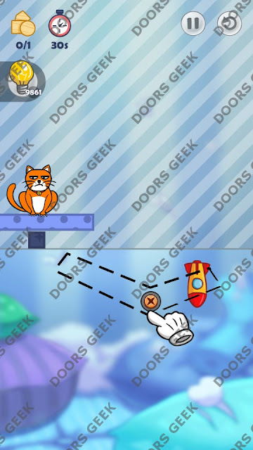 Hello Cats Level 73 Solution, Cheats, Walkthrough 3 Stars for Android and iOS