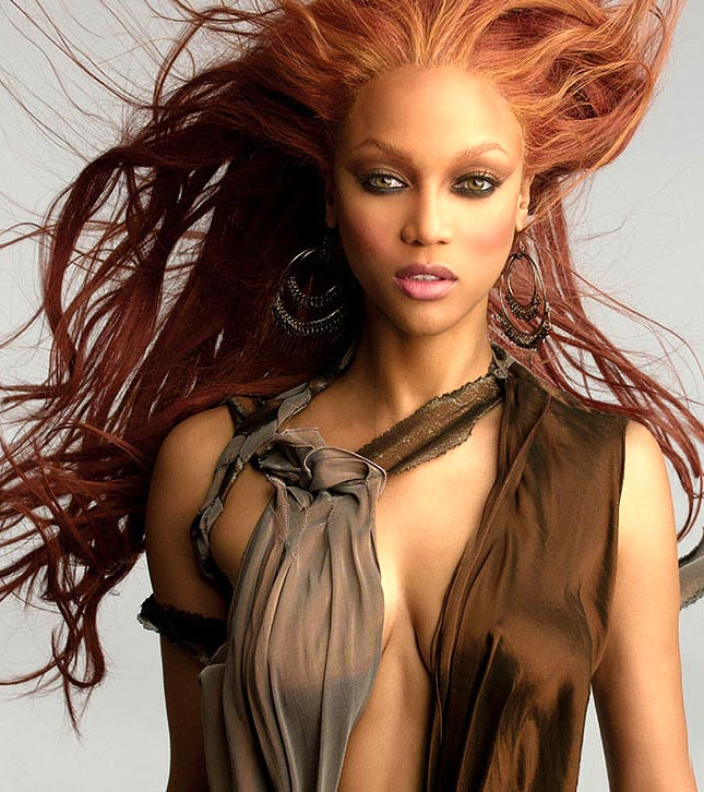 Tyra Banks On The Runway: American's Next Top Model;Tyra Banks