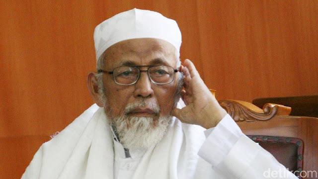 Dirawat di RSCM, Ustadz Abu Bakar Ba'asyir Sakit Pembengkakan Kaki