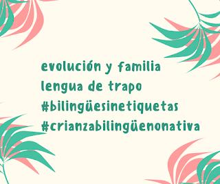 evolución hijos crianza inglés no nativo
