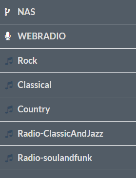 Raspberry Pi - Volumio - Playlists - Shared folder
