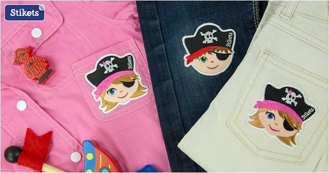 nuevos productos para marcar y personalizar la ropa de Stikets