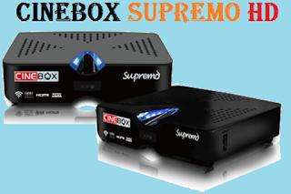 Resultado de imagem para CINEBOX SUPREMO HD ( DUO )