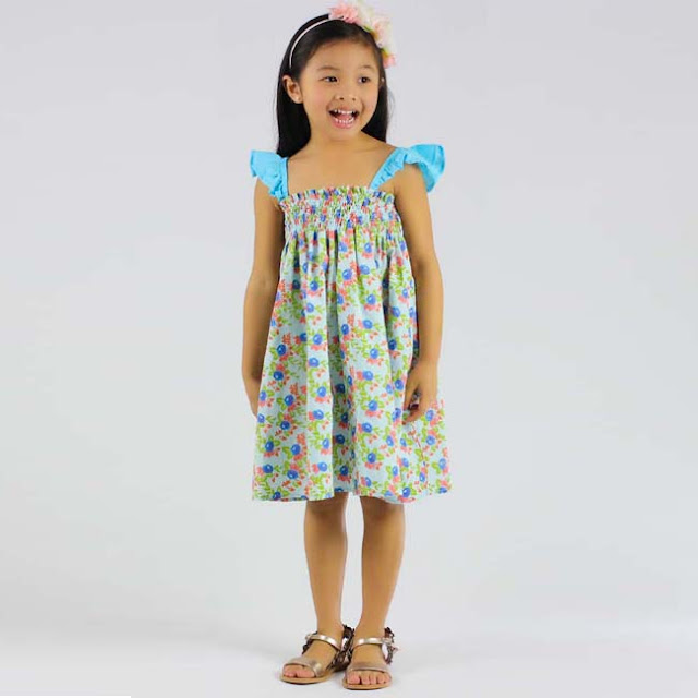 Siaomimi Smocked Summer Dress | Girls Boutique | Chichi Mary