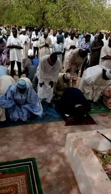 Kebbi Muslims Pray for President Buhari's Health